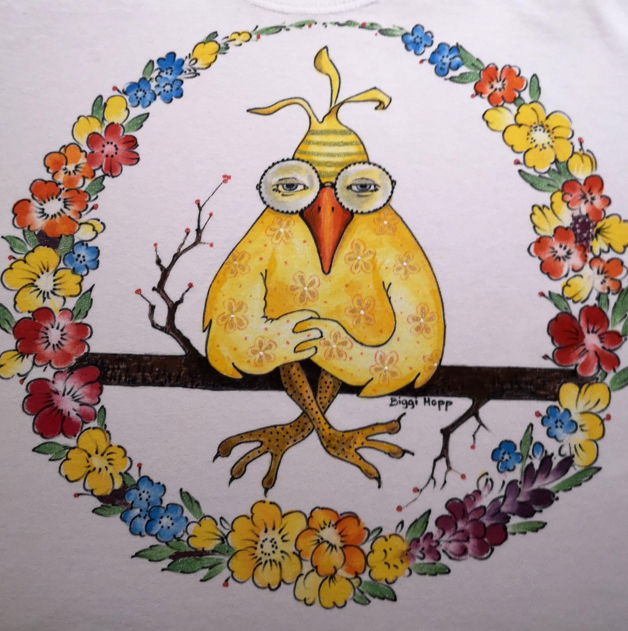 Beispiel Motiv Vogel 64