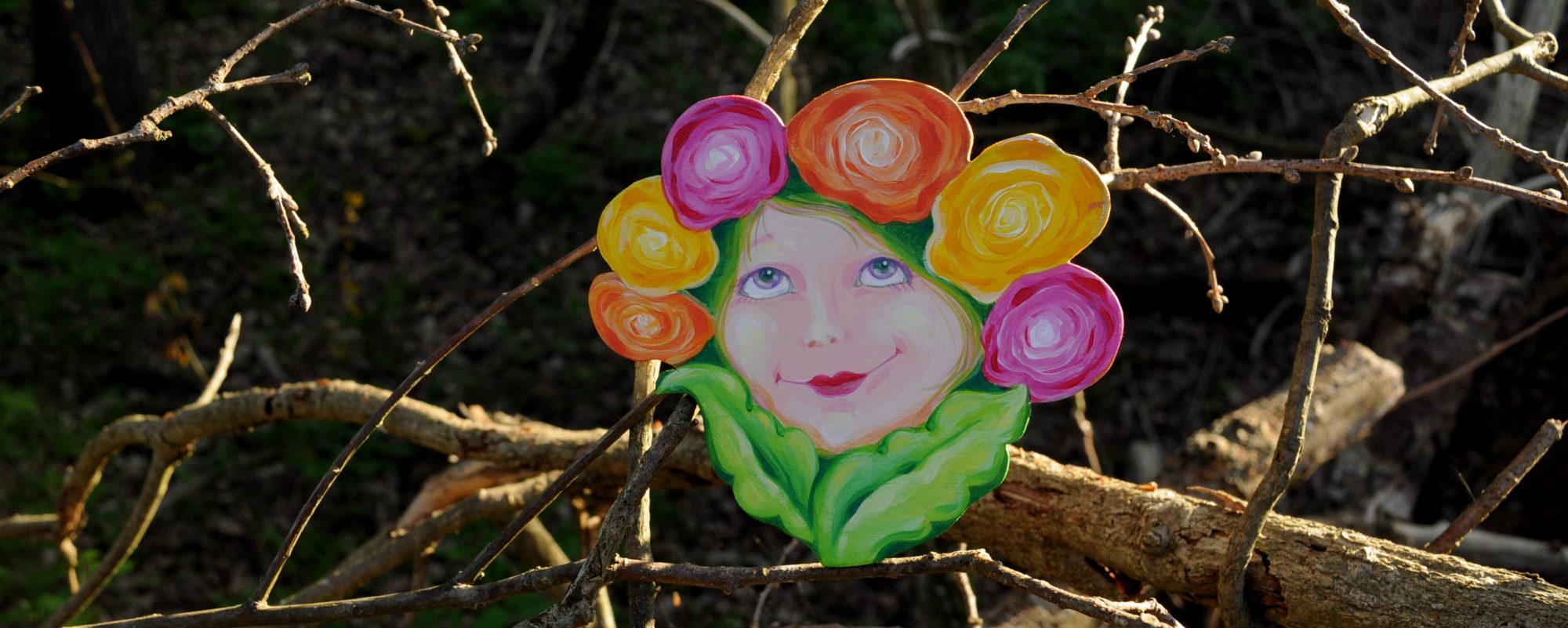 Blumenmädchen Biggi Hopp